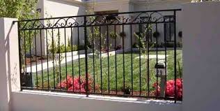 pleasant ornamental iron fence supplies in for fence gate