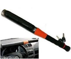 blocco volante auto bloccasterzo blocca volante antifurto auto mazza baseball difesa