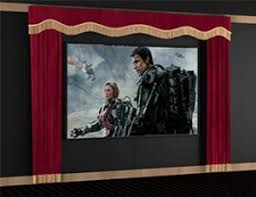 soundright home theater curtains home theater decor 4seating