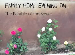 life u0027s journey to perfection family home evening on the parable