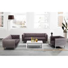 Grey Silver Sofa Armen Living Bellagio Sofa Chair In Grey Wash Wood Finish With