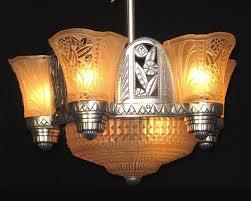 Art Deco Light Fixture Vintage Art Deco Lighting Antique Art Deco Light