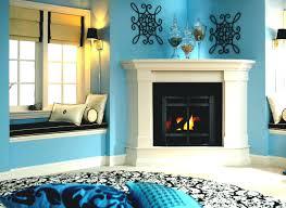 corner fireplace mantels ideas diy mantel gas 590 interior decor