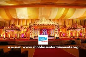 wedding decorators wedding stage flower and reception stage decorations in hyderabad