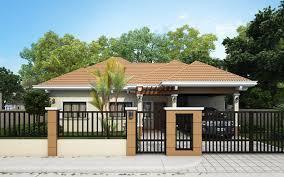 Single Story House Design Single Storey Mesmerizing Residential House Amazing Architecture
