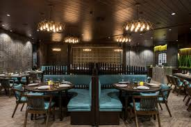 vintage looking restaurant design has modern experience neovana
