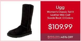 uggs on sale womens ebay ebay cyber monday ugg s ii leather mid calf