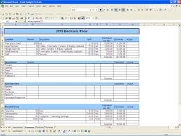 Simple Home Budget Spreadsheet by Free Budget Template Vnzgames