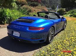 blue porsche 2017 porsche 911 carrera