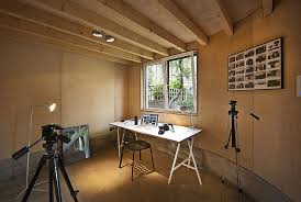 creative home interiors creative home studio inside house with wooden log