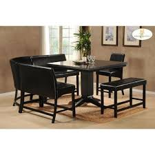 counter height corner nook dining set high country counter height