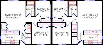 2 bedroom duplex floor plans 2640 duplex