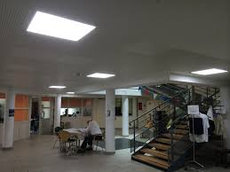 faux plafond design dalle led faux plafond 60 x 60 40w 5500 6000 k éclairage led