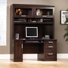 Sauder Armoire Computer Desk Office Port Computer Credenza With Hutch Set Ps1013 Sauder
