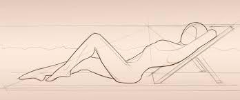 female form sketching award winning contemporary concrete