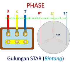 wiring diagram rangkaian star delta untuk starting motor 3ph