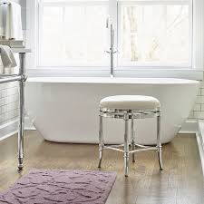 Vanity Stools For Bathrooms The Bathroom Vanity Stools Emerson Golden Bronze Vanity Stool With