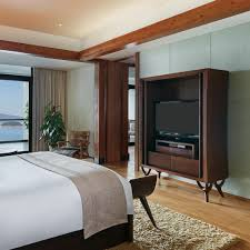 Various Television Vanity Cards Intercontinental Onethousand Island Lake Resort Hangzhou Zhejiang