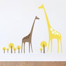 Giraffe Wall Decals For Nursery Wall Designs Giraffe Wall Inspiring Giraffe Wall Decal
