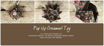 hop giveaway how to make pop up ornament tags stin up