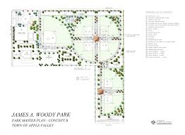 Community Center Floor Plans by Master Plan Of Park U0026 Recreation Services 2004 Apple Valley Ca