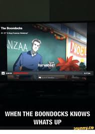 Boondocks Memes - 25 best memes about christmas boondocks christmas