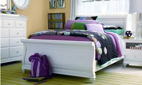 trancediom sleigh beds full white