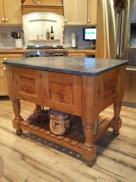 Kitchen Island With Trash Bin by Farmhouse Kitchen Island Plans Grey Concrete Floor Wood Pull Out