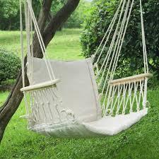 adeco natural colored hammock chair hammock chair backyard and
