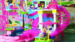 Toddler Bedroom In A Box Mega Bloks Barbie Pool Party With Barbie Doll And Ken Doll Life