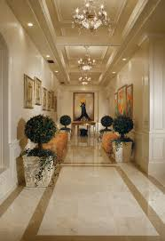 Luxury Lobby Design - chic luxury traditional hall phoenix by guided home design