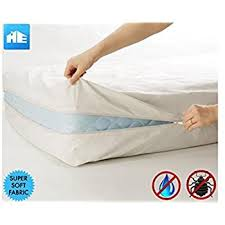 Mattress Cover Bed Bugs Amazon Com Premium Zippered Waterproof Mattress Encasement Bed