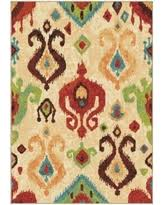Aztec Area Rug Find The Best Deals On Orian Rugs Bright Color Southwest Aztec