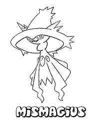 mismagius coloring pages hellokids com