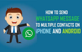 how to send pictures from iphone to android how to send whatsapp message to contacts