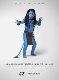 creative advertising cute kids become movie characters