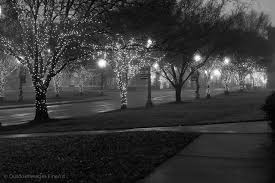 christmas lights in rock hill sc christmas lights on main street in early morning mist outdoor images