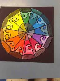 color wheel painting u2013 cms art room