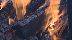 Fire Pit Logs by Fire Pit Logs Burning Stock Video Footage Videoblocks