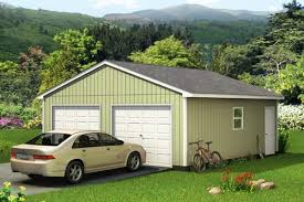 two car garage custom building package kits two car garages