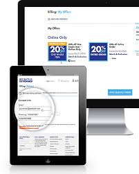 Bed Bath And Beyond Coupon Code Online About My Offers Bed Bath U0026 Beyond