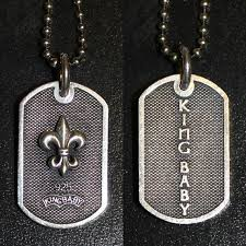 baby dog tags best king baby dog tag pendant necklace for sale in peoria