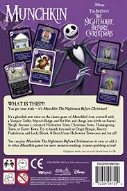 munchkin nightmare before card cards