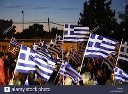 Golden Dawn Flag Athens Greece 21st Mar 2015 Greek Flags Fly At The Golden Dawn