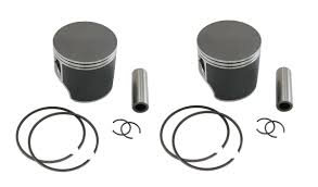 2 spi piston kits ski doo 550f snowmobiles 550 fan cooled standard