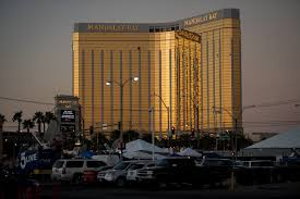 las vegas gunman shot security guard before not after targeting