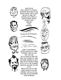 types of hair lines howtocaricature meesimo comics