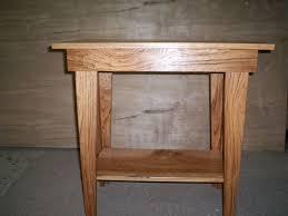 Oak End Tables Reedbuild Furniture End Tables Solid Oak End Tables