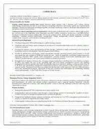 back office executive resume coo resume sample chief operating
