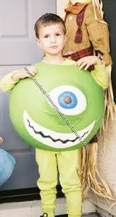 Monsters Boo Halloween Costume 25 Mike Wazowski Costume Ideas Sully Costume